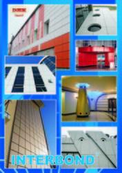 Алюминиевые композитные панели Alcopan (INTERBOND) для вентилируемых ф