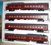 Модель дизель-поезда ДР1А завода